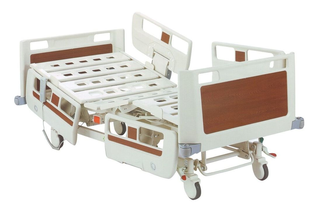 Electric ICU Medical Hospital Bed / Patient Hospital Furniture Steel Frame Base