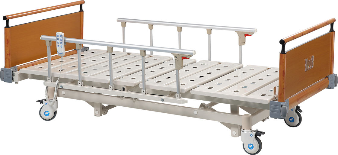 Clinic Care Three Functions Hospital Manual Bed / Automatic Patient Bed