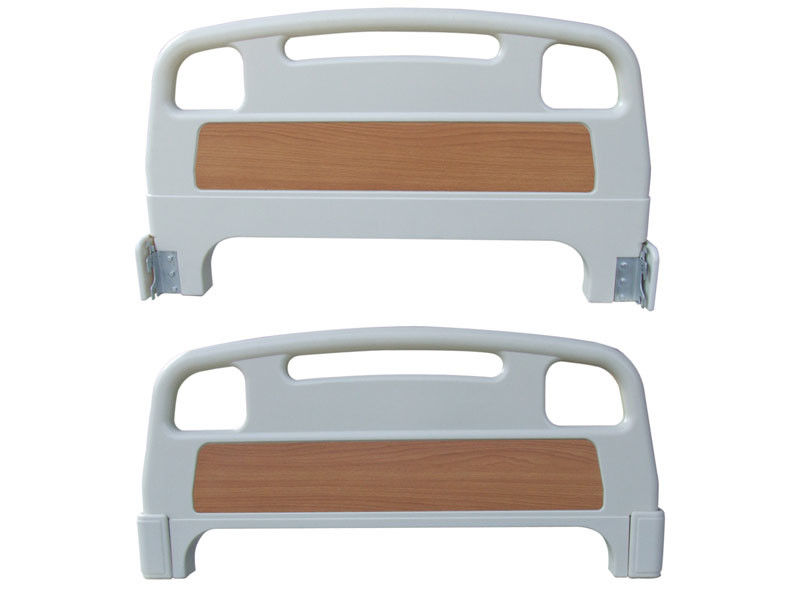 Head / Foot Board Hospital Bed Accessories , Detachable ABS Plastic Medical Bed Accessories Panel