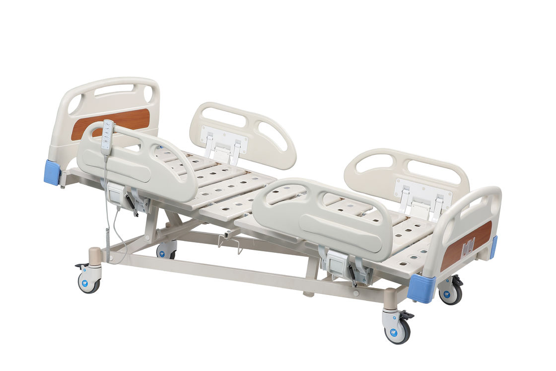 PP Side Rails 5 Functions ICU Hospital Bed Electric Remote Control