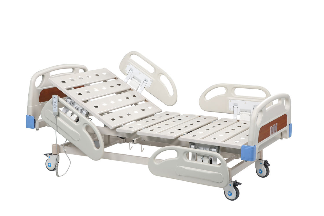 Luxury Electric Adjustable Clinical ICU Hospital Bed / Hospital Nursing Bed