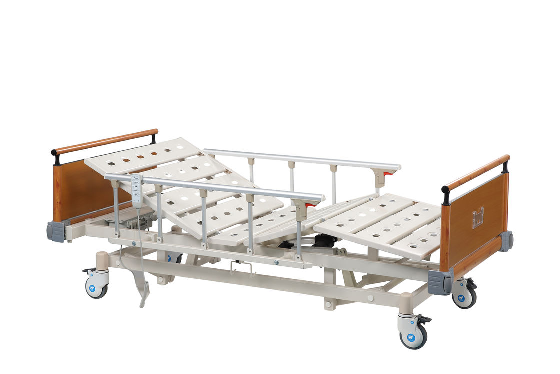Adjustable Automatic Medical Hospital Bed Five Function For Patient Disabled