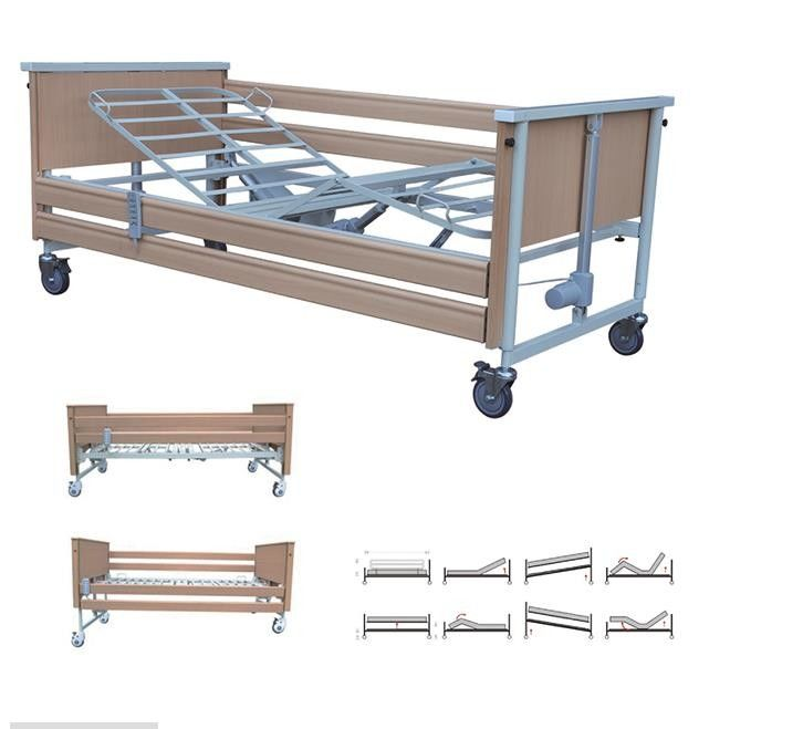 4 Motors Hospital Type Beds For Home , Single Adjustable Beds For The Elderly